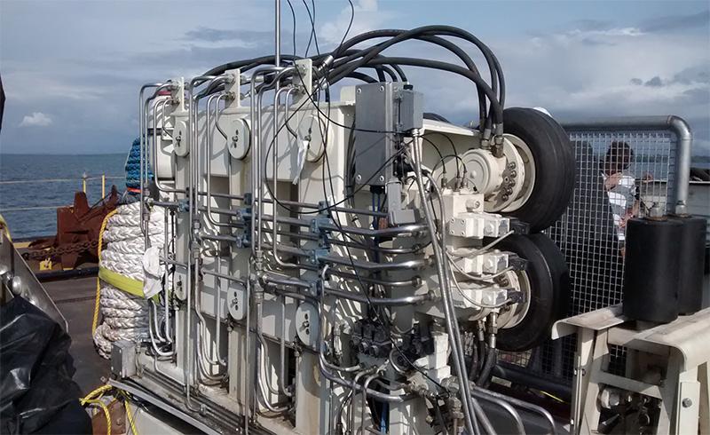 Equipo Enterramiento Cable Submarino - LCE
