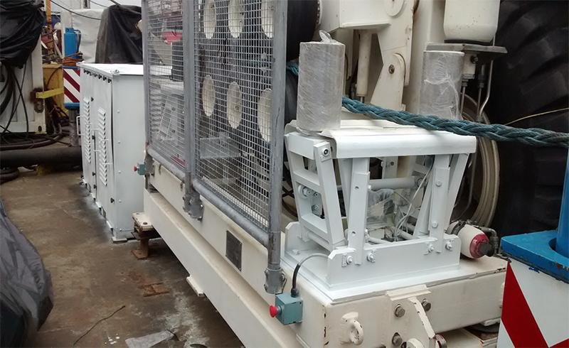 LCE - Equipo Enterramiento Cable Submarino