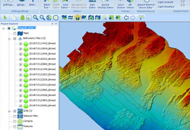 Software Hidrografía y Geofisica Marina